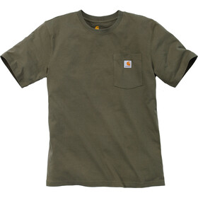 Carhartt Workwear Pocket T-shirt Heren, army green